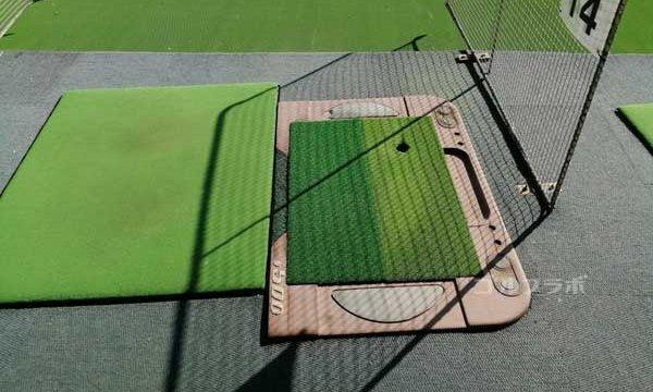 新小岩サニーゴルフのティーイングエリア