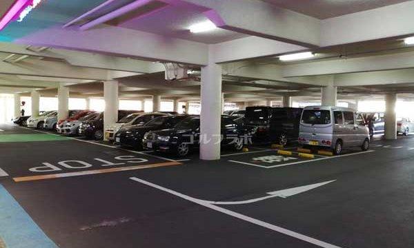 新小岩サニーゴルフの駐車場
