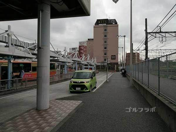 鎌倉パブリックゴルフ場の送迎バス乗り場