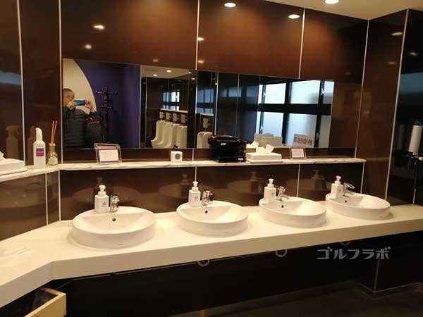 鎌倉パブリックゴルフ場の洗面所