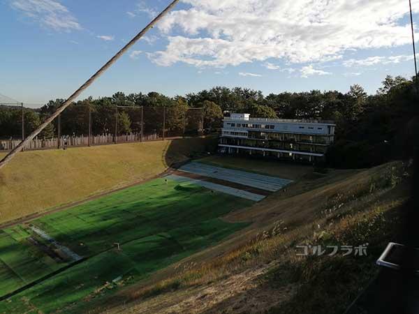 鎌倉パブリックゴルフ場の練習場
