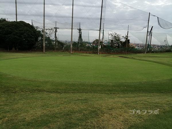 鎌倉パブリックゴルフ場の6番ホールの3打目