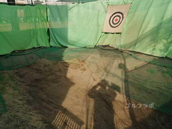 京葉ゴルフセンターのバンカーの練習場