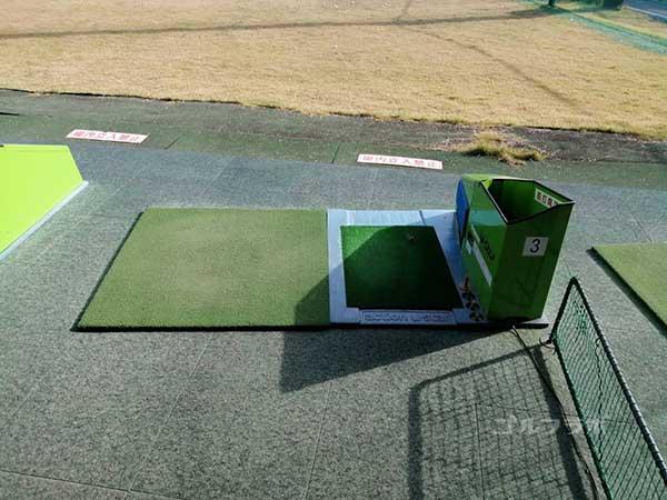 京葉ゴルフセンターの打席
