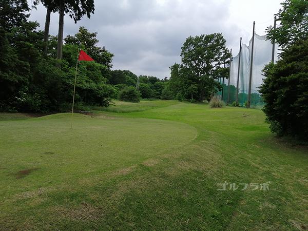 つくばゴルフガーデンのショートホール