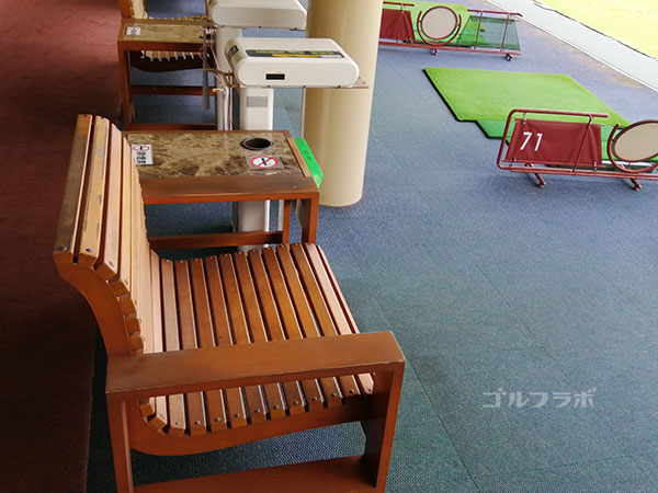 ジャック・ニクラス-ゴルフセンターつくばの椅子