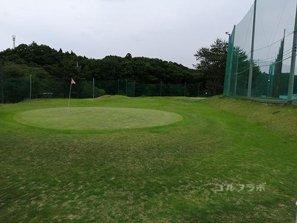 桜ゴルフセンターのアプローチ練習