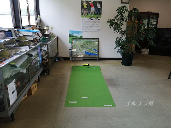 柳橋ゴルフ練習場のパター