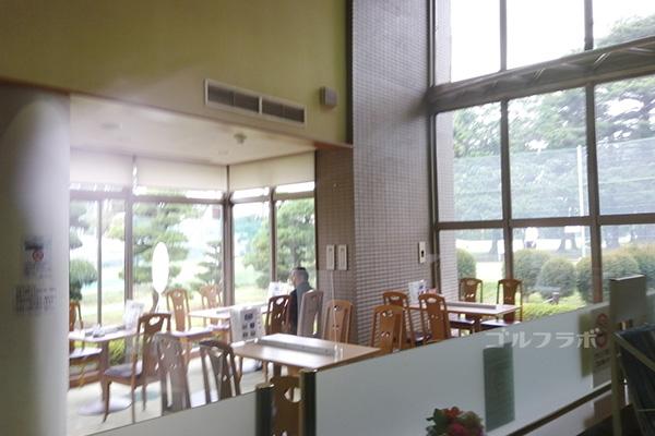 梨香台ゴルフガーデンのレストラン