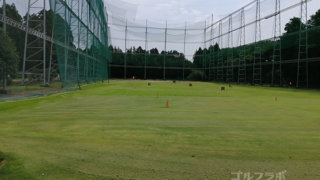 石岡ゴルフセンターのフェアウェイ