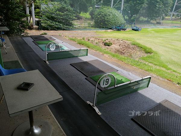 石岡ゴルフセンターの打席