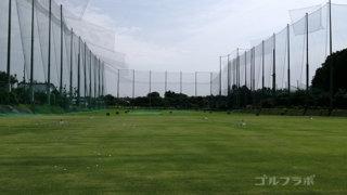 竜神ゴルフセンターのフェアウエイ