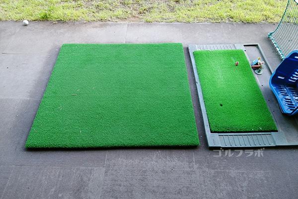 筑波ジャンボリーゴルフの打席