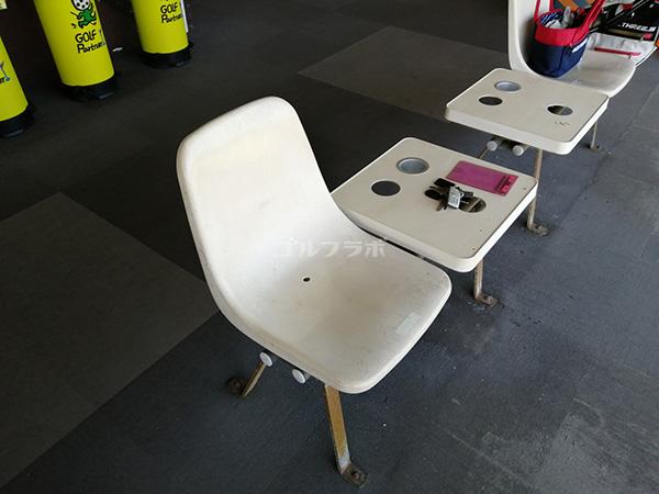 筑波ジャンボリーゴルフの椅子