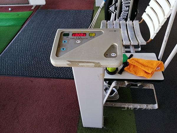 ダイヤゴルフセンター牛久は自動ティーアップ