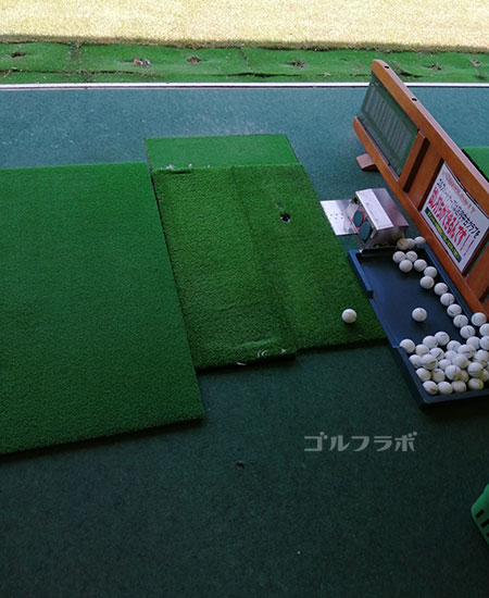 ゴルフパートナー桜土浦インター練習場の打席