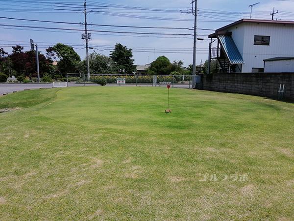 関鉄ゴルフセンターのグリーン