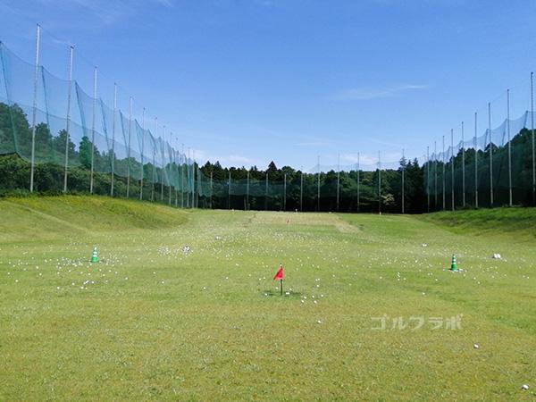 美浦ゴルフ練習場【打ちっぱ】のドライビングレンジ