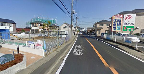 中山ゴルフセンターへの道順