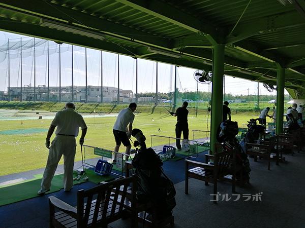 センチュリーゴルフの打席