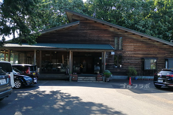 牛久ジャンボゴルフ練習場のクラブハウス