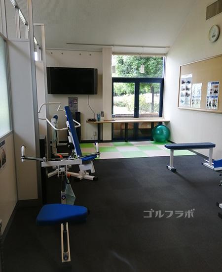 ニッケゴルフ倶楽部コルトンセンターのトレーニングルーム