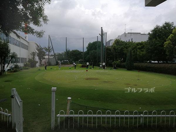 ニッケゴルフ倶楽部コルトンセンターのアプローチ練習場