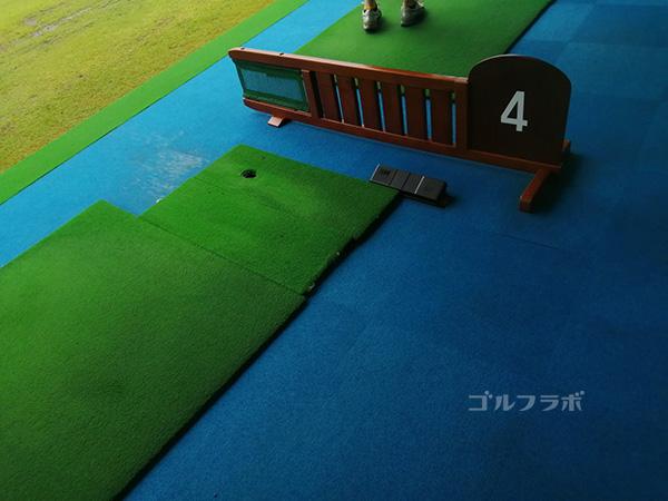 ニッケゴルフ倶楽部コルトンセンターの打席