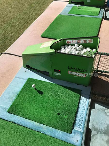 岩槻ファミリーゴルフの打席