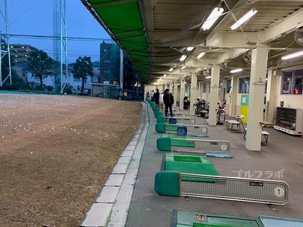 南野ゴルフの駐車場