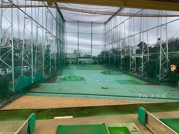南野ゴルフの3F打席