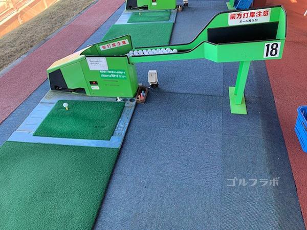 桜ケ丘ゴルフ練習場打席