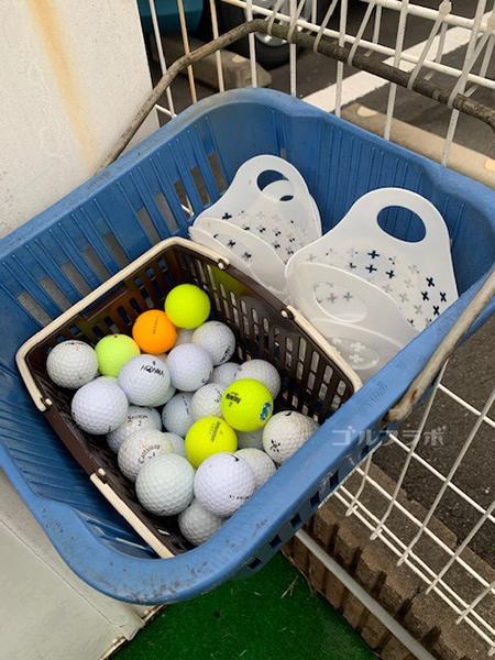 桜ヶ丘グリーンクラブのパター練習用ボール