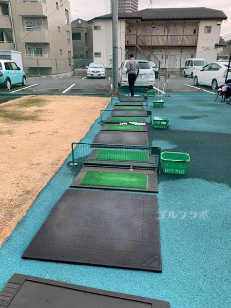 桜ヶ丘グリーンクラブの打席