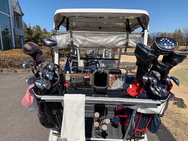 ピートダイゴルフクラブVIPコースのカート