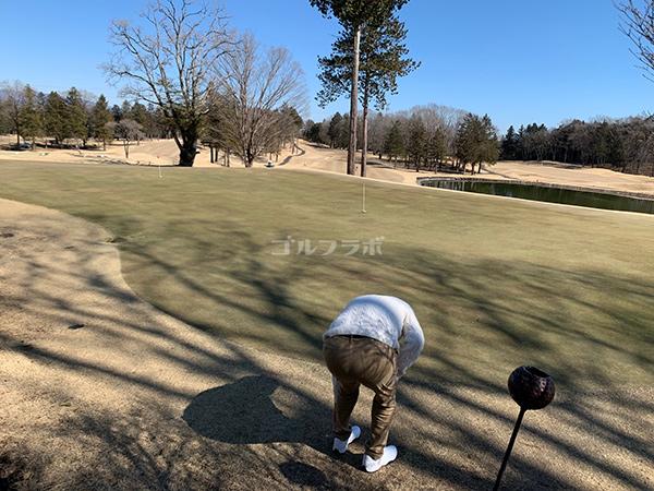 ピートダイゴルフクラブVIPコースの練習グリーン