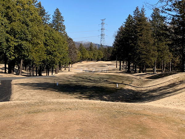 ピートダイゴルフクラブVIPコースの2番ホール