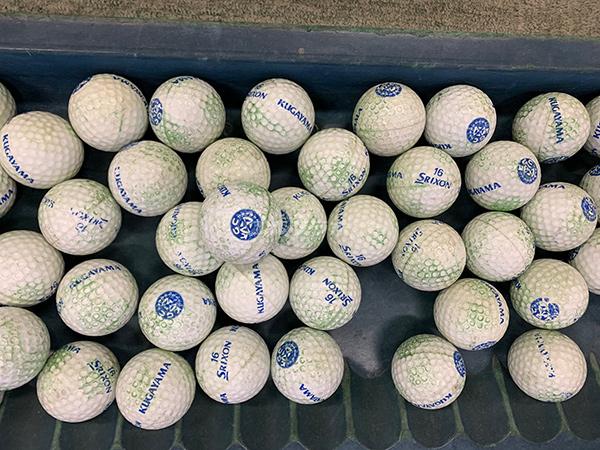 久我山ゴルフのレンジボール
