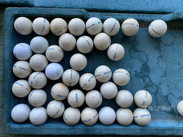 白糸台ゴルフセンターのボール