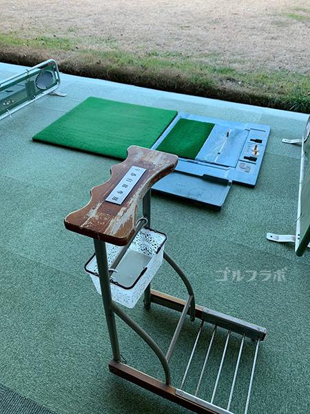 白糸台ゴルフセンターの打席