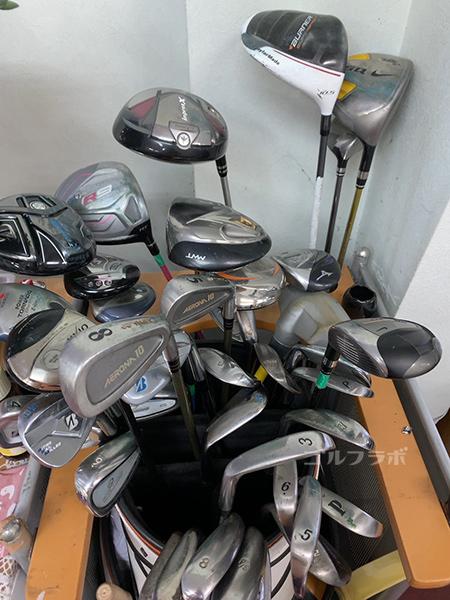 白糸台ゴルフセンターの無料貸クラブ