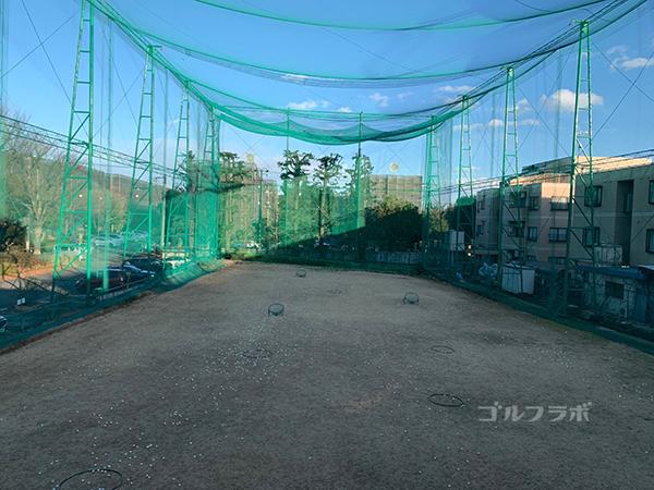 白糸台ゴルフセンターの2F打席