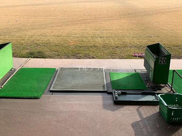 武蔵野ゴルフの打席
