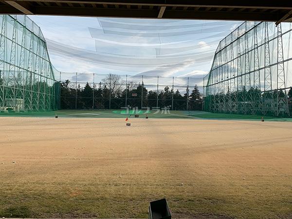 武蔵野ゴルフの1F打席