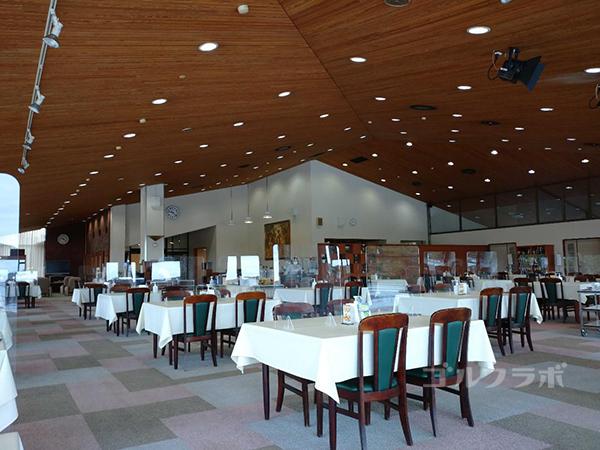 房総カントリークラブ房総ゴルフ場のレストラン