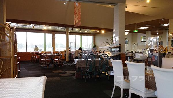 ダイナミックゴルフ茂原のレストラン