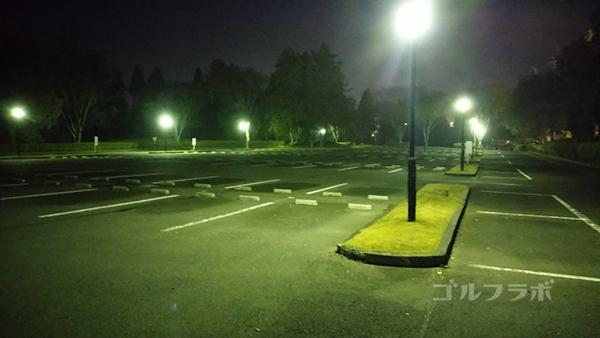 市原ゴルフクラブ柿の木台コースの駐車場