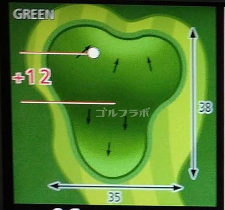 市原ゴルフクラブ柿の木台コースの6番ホール