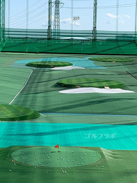 ワールドゴルフ練習場のヤーデージ