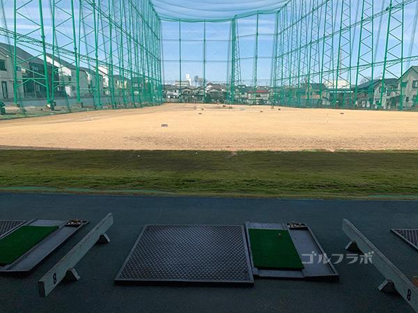 山王ゴルフセンターの1F打席